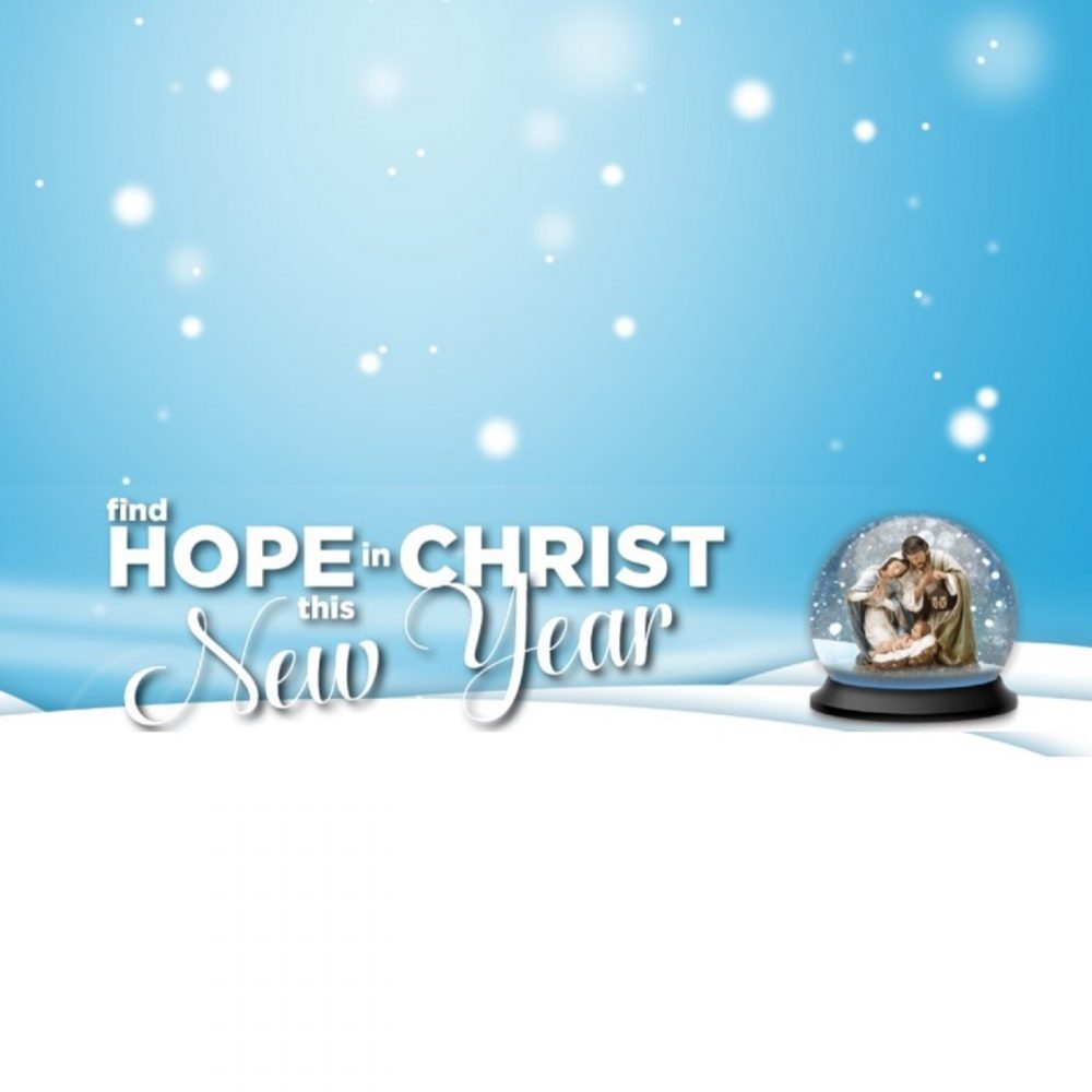 Find Hope in Christ This New Year