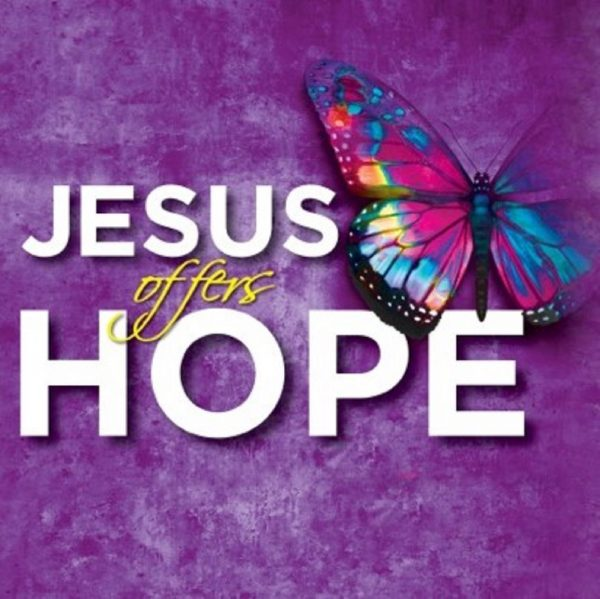 Jesus Offers Hope  Image